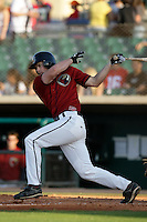 May 31 2009: T.J. Steele of the Lancaster JetHawks during game against the Modesto Nuts at Clear Channel Stadium in Lancaster,CA.  Photo by Larry Goren/Four Seam Images