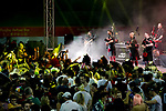 The Red Hot Chili Pipers perform in the HSBC Sevens Village during the HSBC Hong Kong Rugby Sevens 2017 on 08 April 2017 in Hong Kong Stadium, Hong Kong, China. Photo by King Chung Fung / Power Sport Images