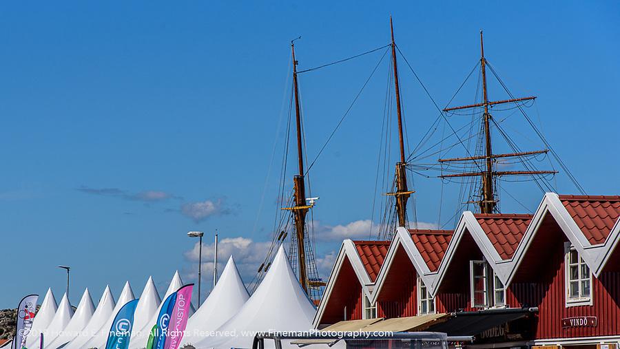 Sailing village in Tjorn