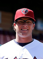 Jon Gaston  ---  At the annual California League-Carolina League all-star game at the Diamond in Lake Elsinore, CA - 06/23/2009. The game was won by the California League, 2-1, on a walk-off homerun by Lancaster's Jon Gaston..Photo by:  Bill Mitchell/Four Seam Images
