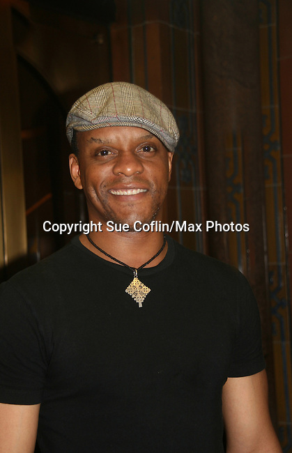 Guiding Light's Kevin Mambo stars in the play Ruined at The Manhattan Theatre Club at 131 55th St, New York City, New York. The play runs til September 6, 2009. (Photo by Sue Coflin/Max Photo)