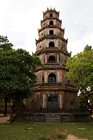 Thien Mu Pagoda  ;  the largest pagoda in Hue, Viet Nam<br /> and the official symbol of the city.