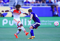 Orlando, Florida - Sunday, October 23, 2016: Orlando City SC defeated D.C. United 4-2 in a MLS match at Camping World Stadium.