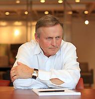 Author John Grisham photographed at his office in Charlottesville, VA.