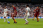 Real Madrid's Francisco Alarcon 'Isco' and AS Roma's Alessandro Florenzi during Champions League match. September 19, 2018. (ALTERPHOTOS/A. Perez Meca)