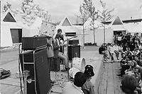 Le groupe psychedelique THE GAP en spectale le dernier jour de l'expo 67<br /> <br /> PHOTO : Alain Renaud - Agence Quebec Presse
