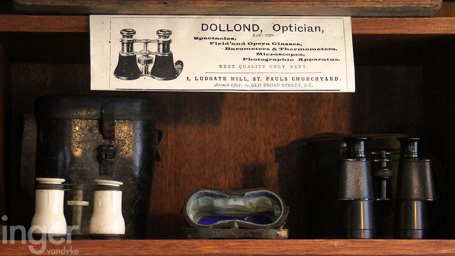 Binoculars at the Shipreck Museum, Warrnambool