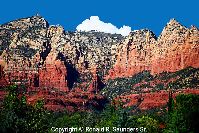 RED SANDSTONE ROCK FORMATIONS