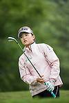 Shi Yuting of China tees off during Round 1 of the World Ladies Championship 2016 on 10 March 2016 at Mission Hills Olazabal Golf Course in Dongguan, China. Photo by Victor Fraile / Power Sport Images