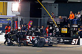 NASCAR Camping World Truck Series<br /> Toyota Tundra 250<br /> Kansas Speedway, Kansas City, KS USA<br /> Friday 12 May 2017<br /> Kyle Busch, Cessna Toyota Tundra pit stop<br /> World Copyright: Russell LaBounty<br /> LAT Images<br /> ref: Digital Image 17KAN1rl_5637