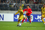 Korea Republic vs Malaysia during the 2004 Olympic Preliminary Qualifier Group A match on April 14, 2015 in Korea Republic. Photo by World Sport Group