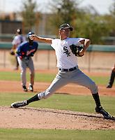 Matt Heidenreich - Chicago White Sox 2009 Instructional League. .Photo by:  Bill Mitchell/Four Seam Images..