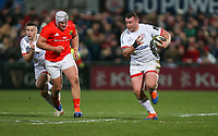 Friday 3rd January 2020 | Ulster Rugby vs Munster Rugby<br /> <br /> Jack McGrath on the charge during the PRO14 Round 10 inter-pro clash between Ulster and Munster at Kingspan Stadium, Ravenhill Park, Belfast, Northern Ireland.  Photo by John Dickson / DICKSONDIGITAL