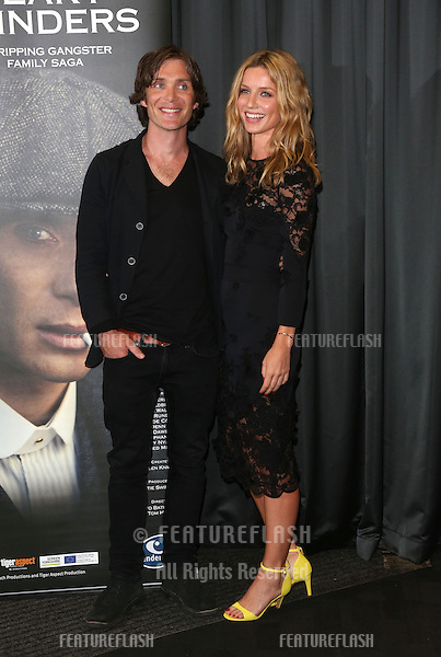 Cillian Murphy and Annabelle Wallis arriving for the UK premiere of Peaky Blinders held at the BFI Southbank, London. 21/08/2013 Picture by: Henry Harris / Featureflash