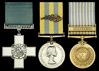 Prestigious gallantry medal awarded to a hero officer who chose death over survival sells for £280k.