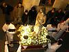 figure of Jesus Christ in Holy week street procession in Soller at night<br /> <br /> Figura de Jesús en una procesión de la Semana Santa en Sóller por la noche<br /> <br /> Jesus Figur in einer Karwochen-Prozession in Sóller bei Nacht<br /> <br /> 3000 x 2250 px