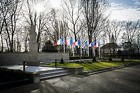 French Flags flies at half-mast in Support & Solidarity with the people of Brussels and the Victims of the terrorist attacks of the 22nd of March 2016.<br />