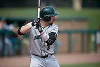 Dartmouth Big Green left fielder Ubaldo Lopez (26) at bat during a game against the USF Bulls on March 17, 2019 at USF Baseball Stadium in Tampa, Florida.  USF defeated Dartmouth 4-1.  (Mike Janes/Four Seam Images)