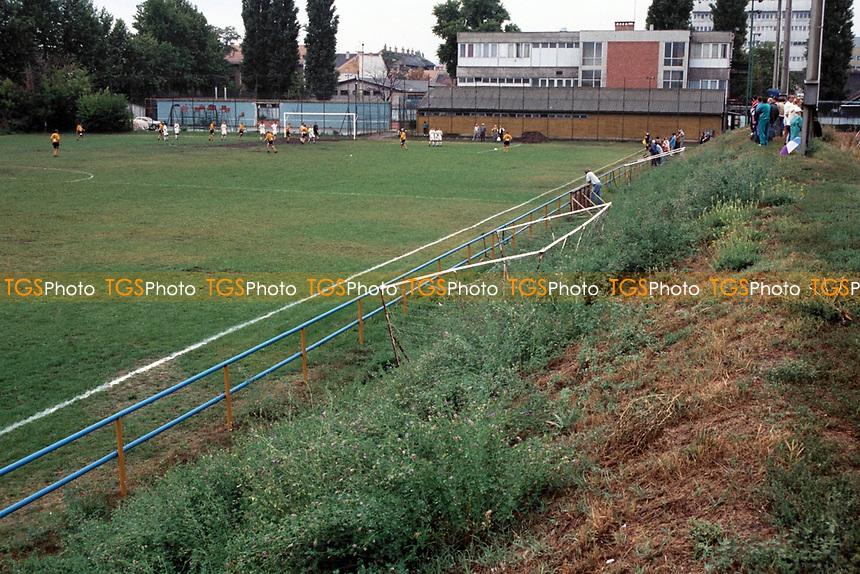 General view of Budapesti VSC Football Training Ground, Tatai Ut, Budapest, Hungary
