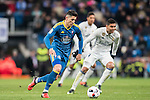 Pedro Pablo Hernandez of RC Celta de Vigo in action during their Copa del Rey 2016-17 Quarter-final match between Real Madrid and Celta de Vigo at the Santiago Bernabéu Stadium on 18 January 2017 in Madrid, Spain. Photo by Diego Gonzalez Souto / Power Sport Images