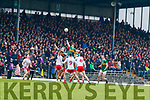 Paul Geaney and Diarmuid O'Connor  Kerry in action against  Tyrone during the Allianz Football League Division 1 Round 1 match between Kerry and Tyrone at Fitzgerald Stadium, Killarney on Sunday.