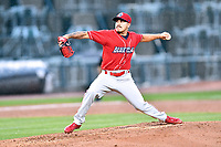 Northern Division pitcher JoJo Romero (6) of the Lakewood BlueClaws delivers a pitch during the South Atlantic League All Star Game at Spirit Communications Park on June 20, 2017 in Columbia, South Carolina. The game ended in a tie 3-3 after seven innings. (Tony Farlow/Four Seam Images)
