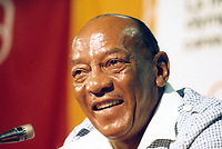 1976 Montreal, Canada; Jesse Owens USA, four-time athletics Olympic champion at the Berlin Summer Games of the Year 1936