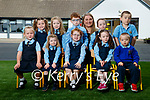 Five sets of twins started in Junior infants at Kilmurray national school in Cordal on Monday with their teacher Therese Kearney, from left: Katie and Emma O'Sullivan, Fia and Sorcha Culhane, Alison and Eamon O'Donoghue, Ellen and Sinead Kane with Ethan and Ryan Quirke.