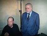 """RENATO  CAROSONE E LUCIANO DE CRESCENZO<br /> PRESENTAZIONE LIBRO """"UN AMERICANO A NAPOLI"""" ROMA 2000"""