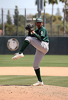 Malik Jones - Oakland Athletics 2018 extended spring training (Bill Mitchell)