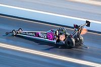 Nov 1, 2020; Las Vegas, Nevada, USA; NHRA top fuel driver Antron Brown during the NHRA Finals at The Strip at Las Vegas Motor Speedway. Mandatory Credit: Mark J. Rebilas-USA TODAY Sports
