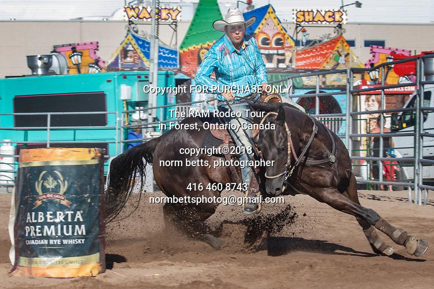 The Ontario RAM Rodeo at the Peterborough Fair, Peterborough, Ontario, Canada,  August 10th, 2018<br /> <br /> Norm Betts, copyright©2018,<br /> normbettsphotog@gmail.com<br /> 416 460 8743