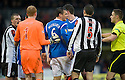 RANGERS' LEE MCCULLOCH IS SENT OFF