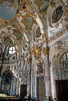 Wurzburg: The Kaisershall Residence. Tiepolo, Venetian painter.
