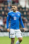 St Johnstone v Hearts…29.09.18…   Tynecastle     SPFL<br />Tony Watt<br />Picture by Graeme Hart. <br />Copyright Perthshire Picture Agency<br />Tel: 01738 623350  Mobile: 07990 594431