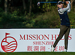 Hyo Joo Kim of Korea of Korea in action during the Hyundai China Ladies Open 2014 at World Cup Course in Mission Hills Shenzhen on December 13 2014, in Shenzhen, China. Photo by Xaume Olleros / Power Sport Images