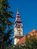 orthodoxe  Kathedrale St. Nikolaus - Sv. Nikolajj, Vrsac, Vojvodina, Serbien, Europa<br /> Orthodox cathedral St. Nicholas-sv. Nikolaj, Vrsac, Vojvodina, Serbia, Europe