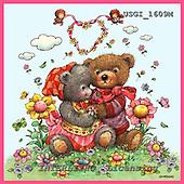 GIORDANO, CUTE ANIMALS, LUSTIGE TIERE, ANIMALITOS DIVERTIDOS, Teddies, paintings+++++,USGI1609M,#AC# teddy bears