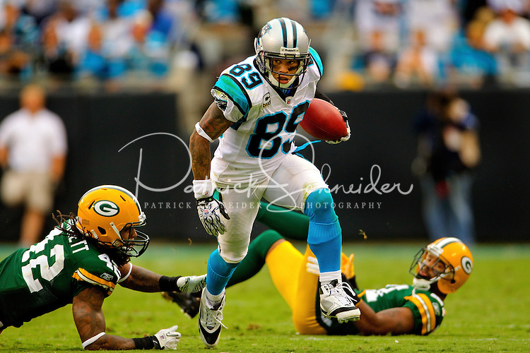 The Carolina Panthers vs. The Green Bay Packers at Bank of America Stadium in Charlotte, North Carolina...Photos by: Patrick Schneider Photo.com