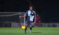 Anthony Stewart of Wycombe Wanderers on the ball during the Sky Bet League 2 match between Wycombe Wanderers and Notts County at Adams Park, High Wycombe, England on 15 December 2015. Photo by Andy Rowland.
