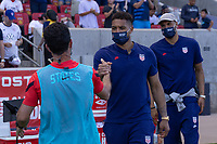 SANDY, UT - JUNE 10: Zack Steffen of the United States during a game between Costa Rica and USMNT at Rio Tinto Stadium on June 10, 2021 in Sandy, Utah.