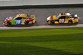 #18: Kyle Busch, Joe Gibbs Racing, Toyota Camry M&M's, #20: Erik Jones, Joe Gibbs Racing, Toyota Camry DeWalt