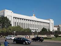 Mansudae Kongresshalle in Pyongyang, Nordkorea, Asien<br /> Mansudae congress hall, Pyongyang,, North Korea, Asia