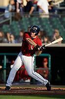 May 31 2009: J.B. Shuck of the Lancaster JetHawks during game against the Modesto Nuts at Clear Channel Stadium in Lancaster,CA.  Photo by Larry Goren/Four Seam Images