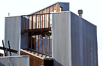 Frank Gehry: Spiller House, 39 Horizon Way, Venice, CA. 1980.  Photo '88.