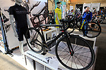 Duratec stand at Bespoked 2018 UK handmade bicycle show held at Brunel's Old Station & Engine Shed, Bristol, England. 21st April 2018.<br /> Picture: Eoin Clarke | Cyclefile<br /> <br /> <br /> All photos usage must carry mandatory copyright credit (© Cyclefile | Eoin Clarke)