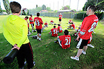 GER - Hannover, Germany, May 31: During the Men Lacrosse Playoffs 2015 match between SCC Blax Berlin (white) and SC 1880 Frankfurt (red) on May 31, 2015 at Deutscher Hockey-Club Hannover e.V. in Hannover, Germany. Final score 14:6. (Photo by Dirk Markgraf / www.265-images.com) *** Local caption ***