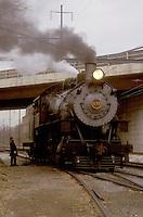locomotive, engine, train, Strasburg, Pennsylvania, Lancaster County, PA, The locomotive to the excursion train, Strasburg Railroad Company in Strasburg.