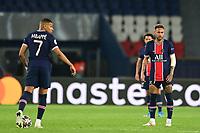 dejection des joeuurs du PSG apres le but de Kevin De Bruyne (Man City)<br /> <br /> Neymar Jr (PSG) <br /> Kylian Mbappe (PSG) <br /> Paris  28/04/2021 <br /> Paris Saint Germain PSG - Manchester City  <br /> semifinal 1st leg<br /> Champions League 2020/2021<br /> Photo JB Autissier / Panoramic / Insidefoto <br /> Italy Only
