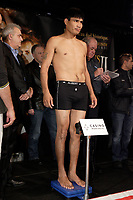 Montreal (QC) CANADA- Dec 10 2009- Official Weighting before Dec 11 Fight :<br /> <br /> Ramon Pedro Moyano (27-8-3, 15 K.-O.)